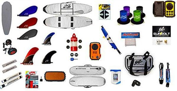 tous les accessoires pour un SUP
