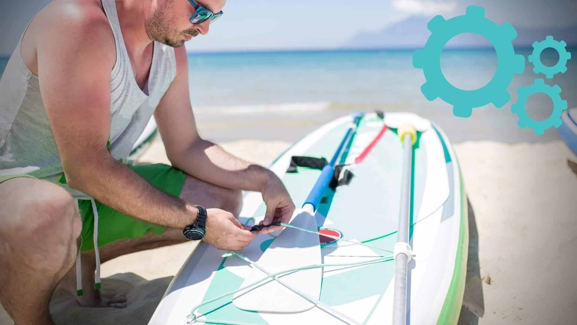 Comment entretenir son paddle gonflable ?